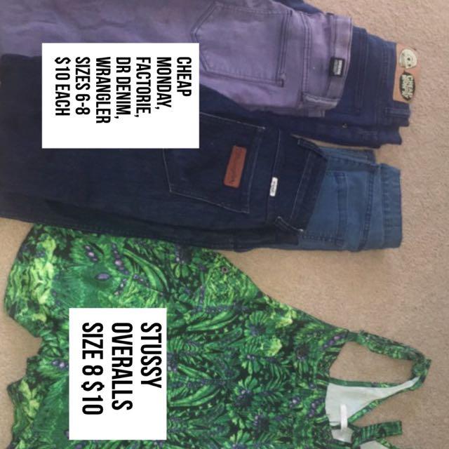 Stussy Cheap Monday Dr Denim Wrangler Sabo Skirt Cotton On Supre