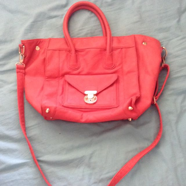Colette Burnt Orange Hand Bag
