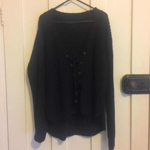 Cotton On Lace-up Jumper