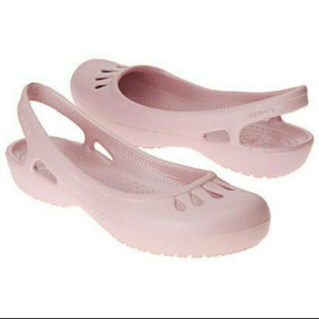 Crocs Malindi : ladies flats pink original