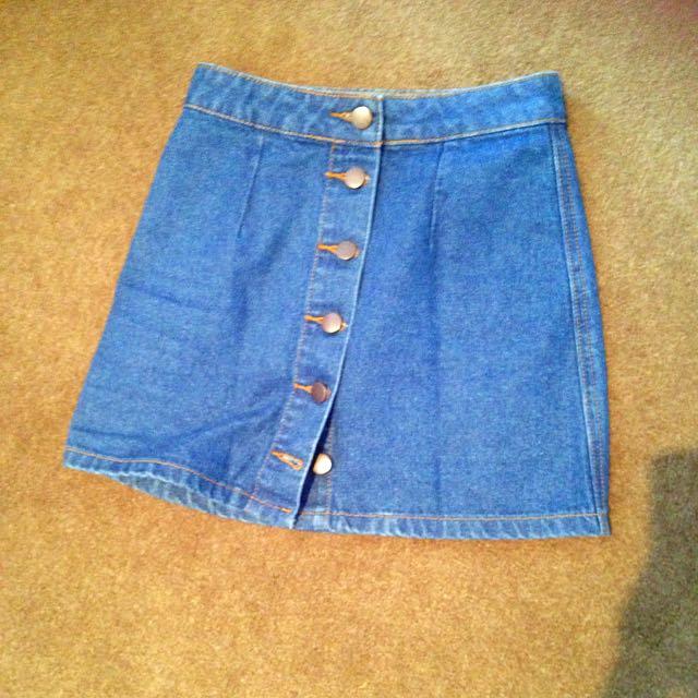 Dotti Denim Mini Skirt