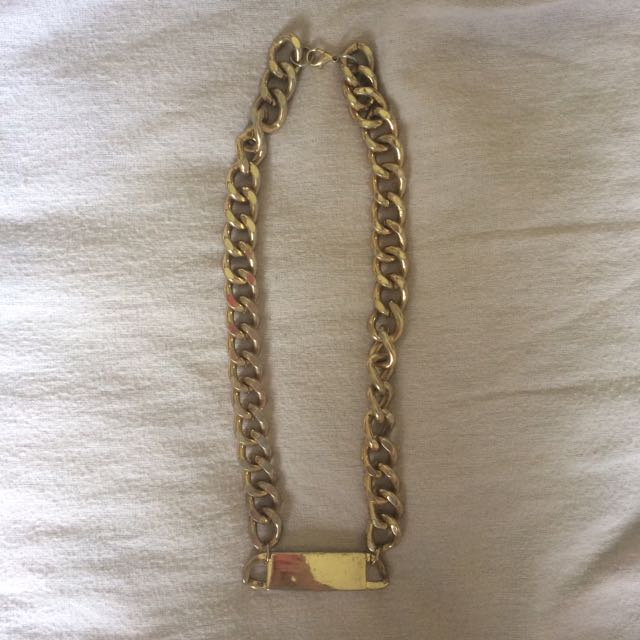 Fake Gold Chain Necklace