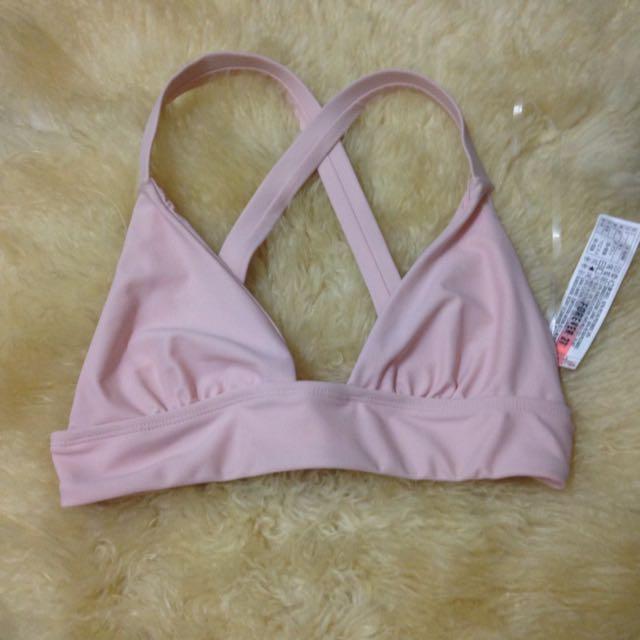 Forever 21 Blush Nude Bikini Top