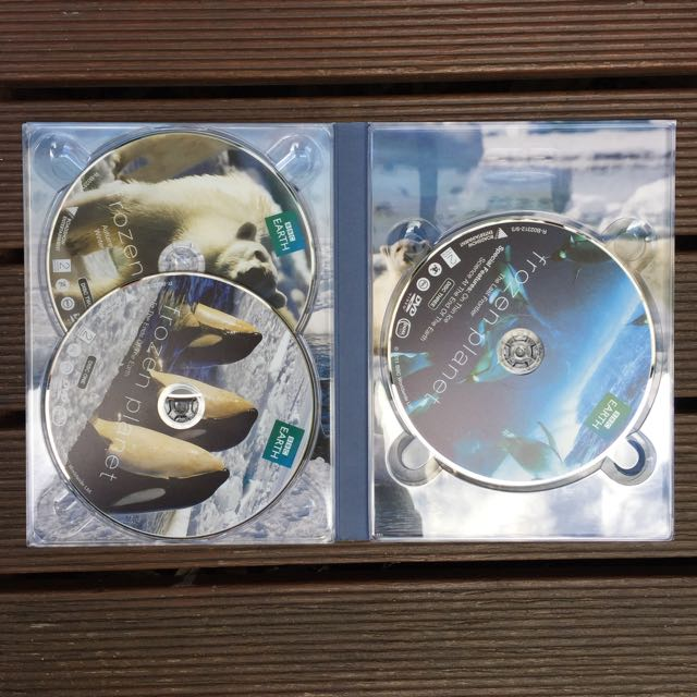 Frozen Planet DVD Set