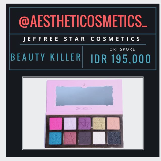 Jeffree Star: Beauty Killer Eyeshadow Palette
