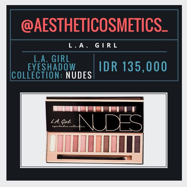 L.A. Girl: NUDES