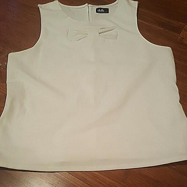 Ladies Size Large Dotti Summer Top.