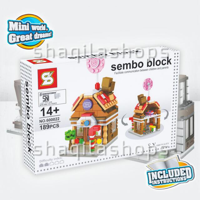 Lego City KTV Candy Store Sembo Block SY600022