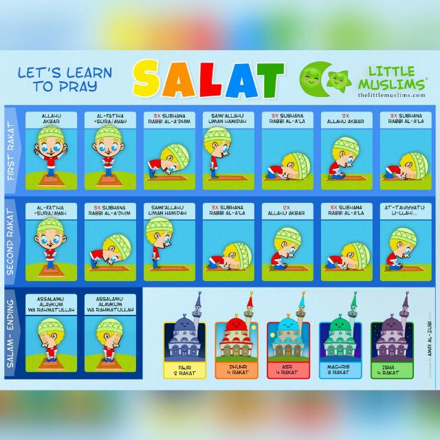 Learning Salat