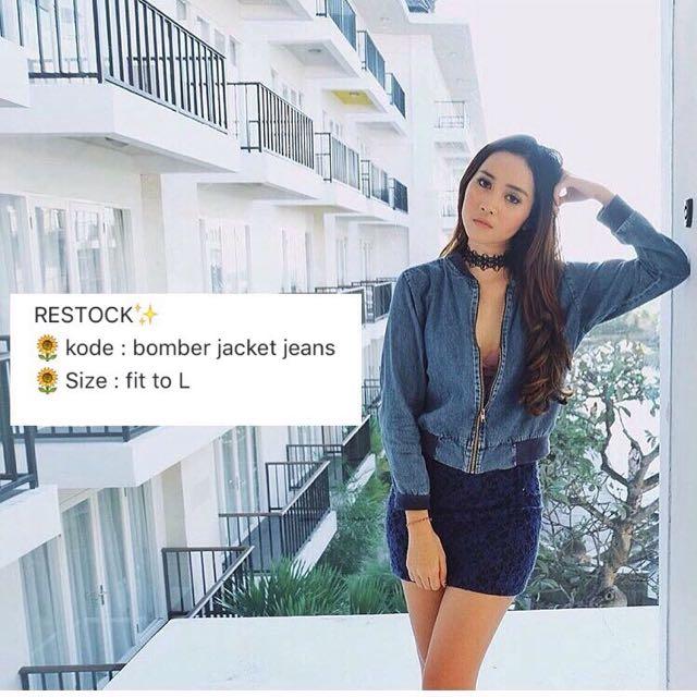 LIMITED Bomber Jacket Jeans!