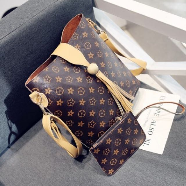 LV bag & wallet