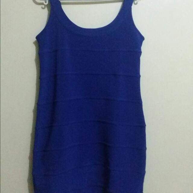M & Co Royal Blue Sexy Dress