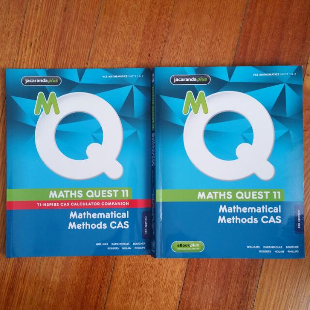 Maths Quest 11