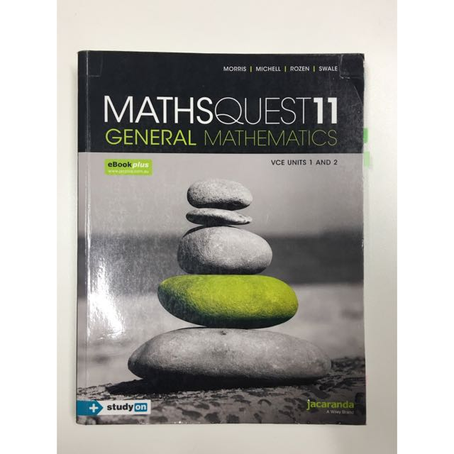 Maths Quest 11 General Mathematics