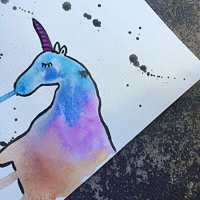 Melting Unicorn