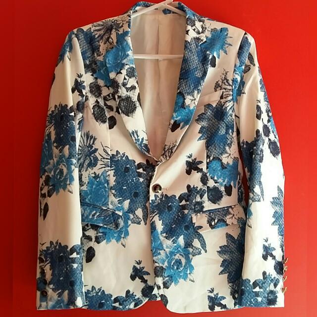 Mens Korea Suit Casual Coat Blazer
