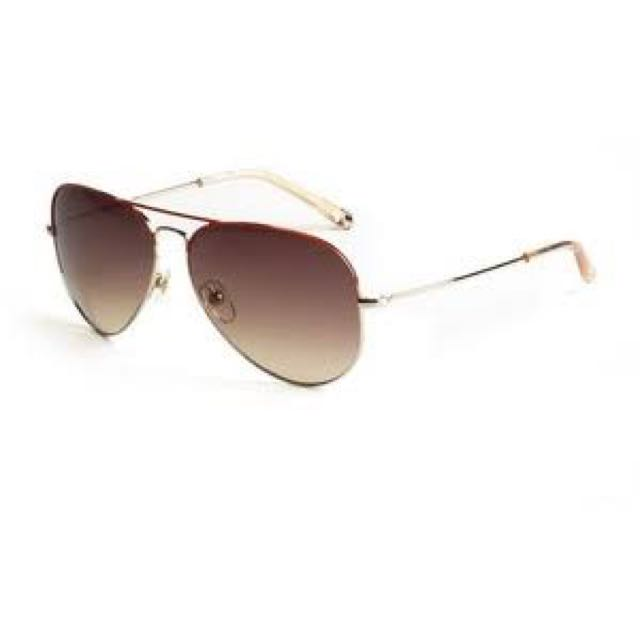 Michael Kors Kennedy Aviator Sunglasses