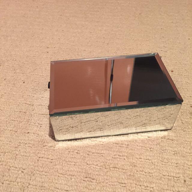 Mirrored Small Jewellery Box