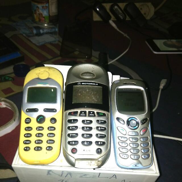 Motorola Samsung + Siemens HP Langka