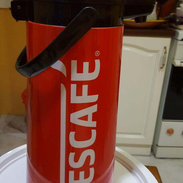 Nescafe big flask