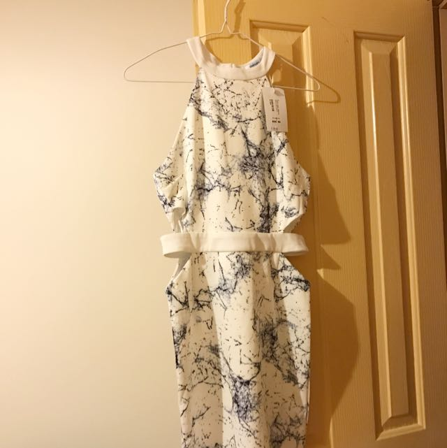 NEW Marble Dress From Valley Girl