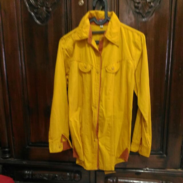 Nice Yellow Blouse,size M