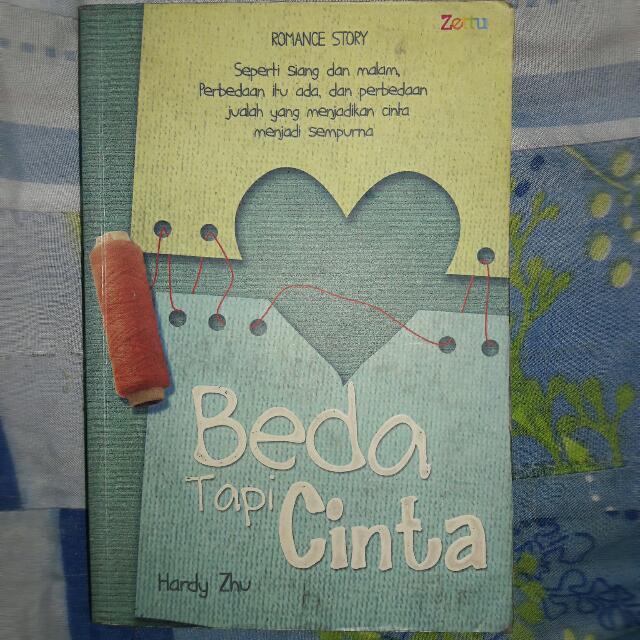 Novel Beda Tapi Cinta