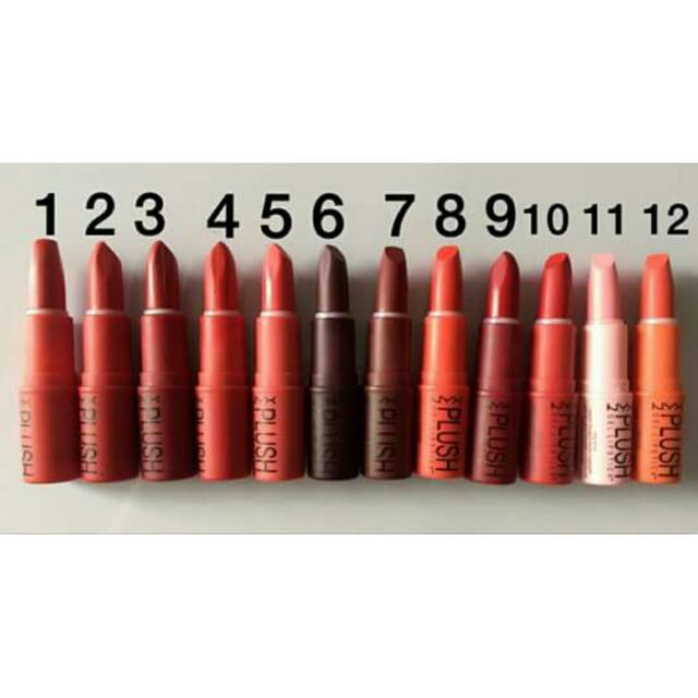 Nyx Plush Lipstix PHP 120.00  Product code: NPL(no. Of your chosen lippie)  SMS | VIBER 09754801281 Shipping fee is PHP 120 NO CANCELLATION OF ORDERS NO EXCHANGES NO RETURNS