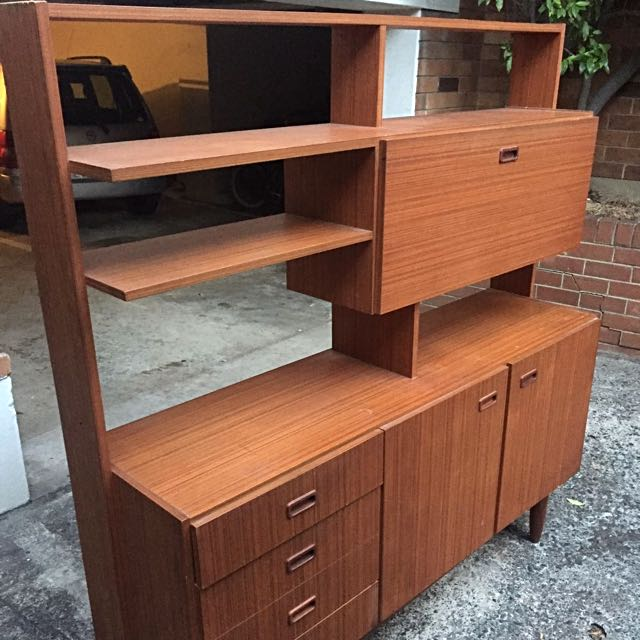 Retro 1950s/1970s Vintage Style Wooden CAbinet