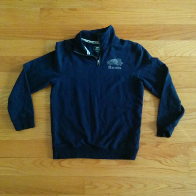 Roots Quarter Zip Sweater