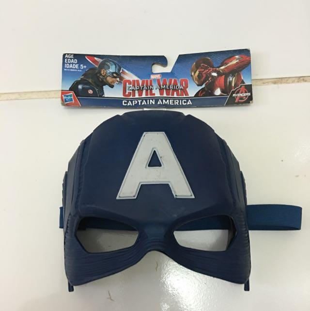 Sake Topeng Captain America