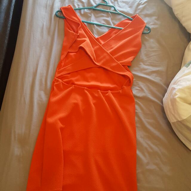 Size 12 Dress Back Cross