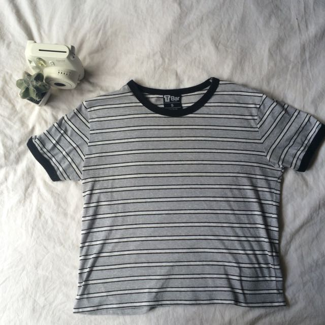Striped Tee • Size S