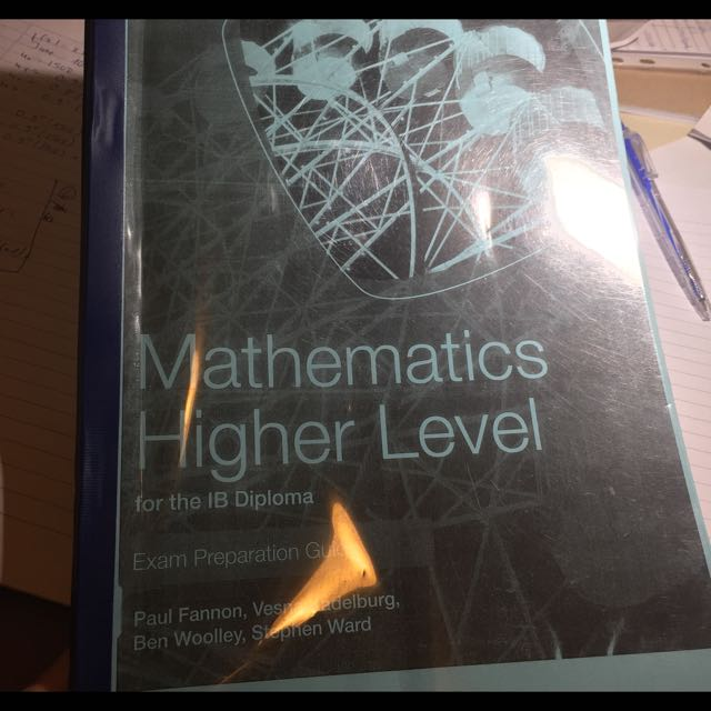 Super USEFULL IB Maths HL Guide Book
