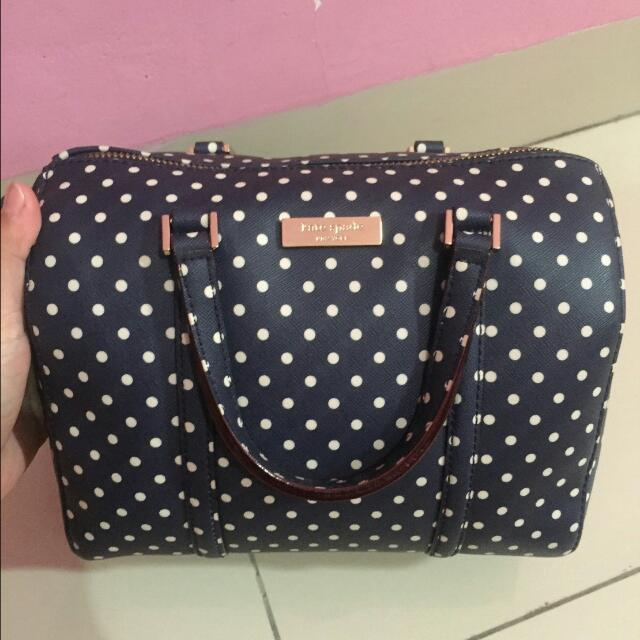 Tas Kate Spade Bag Authentic Original Second Bekas Preloved Cassie Polkadot