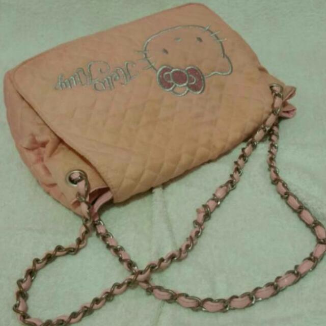 Tas selempang jinjing hello kitty / sling bag hand bag hello kitty