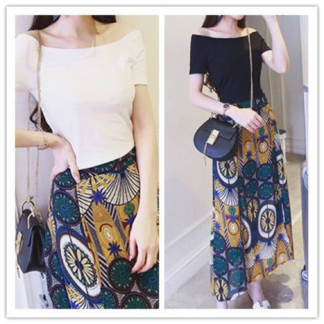 Terno Skirt w/ slit