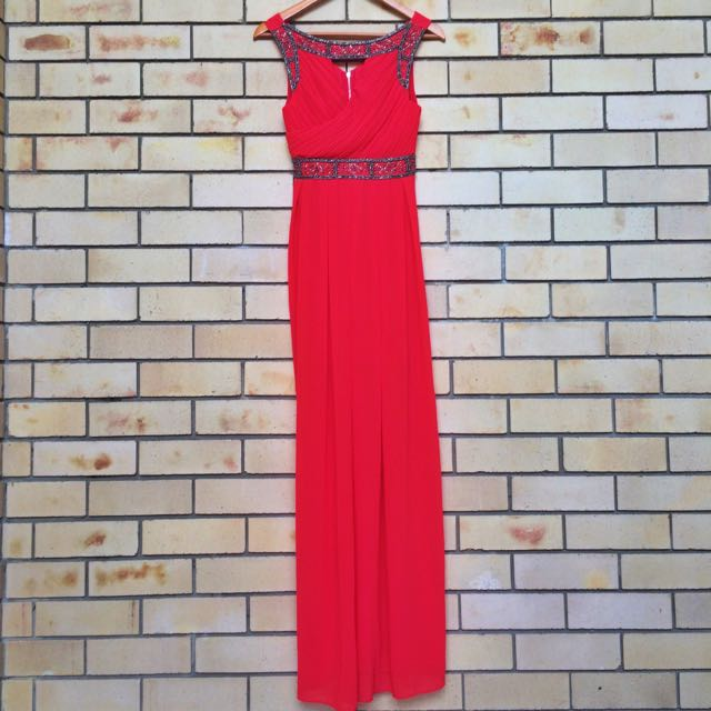 TFNC LONDON Red Maxi Dress