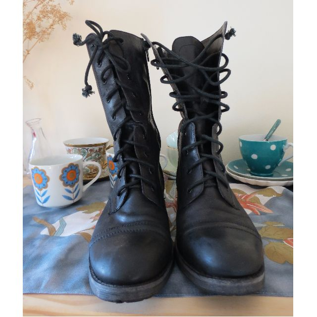 Tony Bianco Leather Boots Size 5