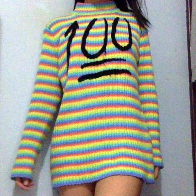 UNIF 100 Funnel Neck Sweater