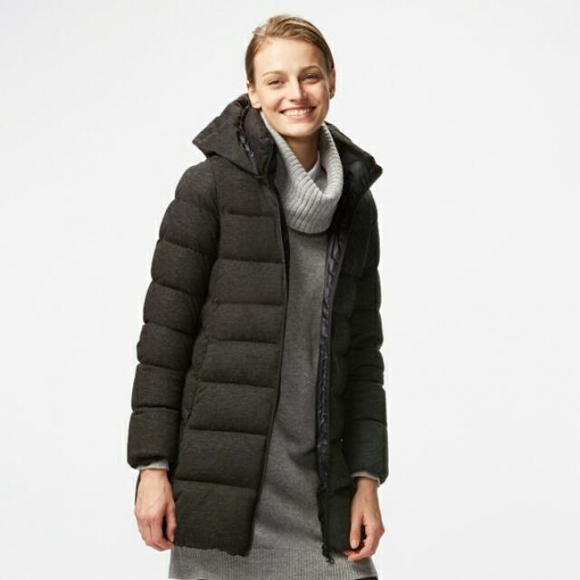 4e9d43f2a58 Uniqlo Down Feather Winter Coat, Women's Fashion, Clothes on Carousell