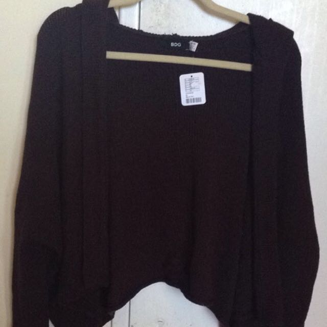 urban outfitters BDG hooded cardigan