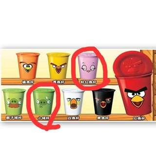 Angry Birds憤怒鳥雙層陶瓷杯
