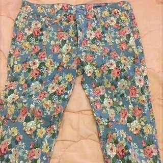 #運費我來出 花漾 長褲 合身褲 緊身褲 專櫃品牌