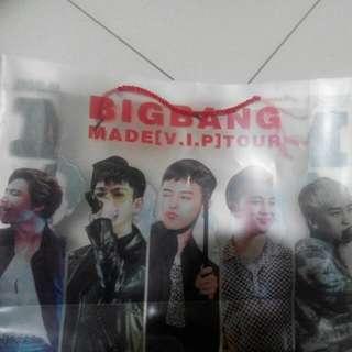 Big bang演唱會袋子