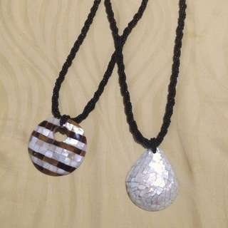 2for1: Mother of Pearl Necklaces