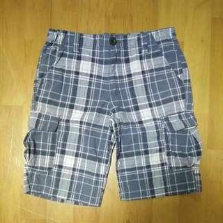 9成新 專櫃 NET 大童 氣質 海灘 口袋 短褲 (14) 27腰