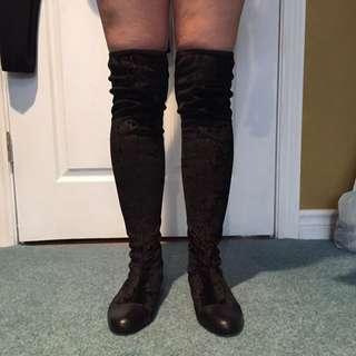 DONALD J PLINER high Knee Boots