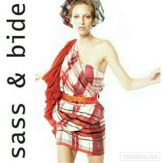 Sass & Bide ~~ tartan dress ~~   Sz 6 - 8
