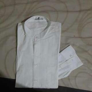 Sebastiano Cappelo White Strip Shirt